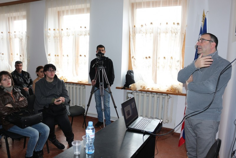 The planned meeting in Akhalkalakii- The Project Founded by  National Endowment for Democracy (NED)