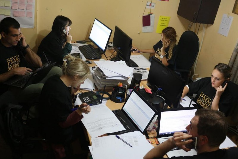 On 6th of October, Public Movement Multinational Georgia has conducted the Election Day simulation for its short term observers.