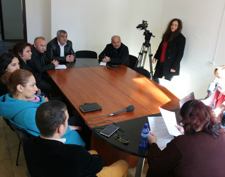 Meeting in Marneuli- The Project Founded by  National Endowment for Democracy (NED)