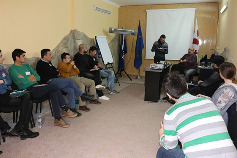 The sixth round of seminars was held in the framework of the Coalition for Rebuilding of Trust project
