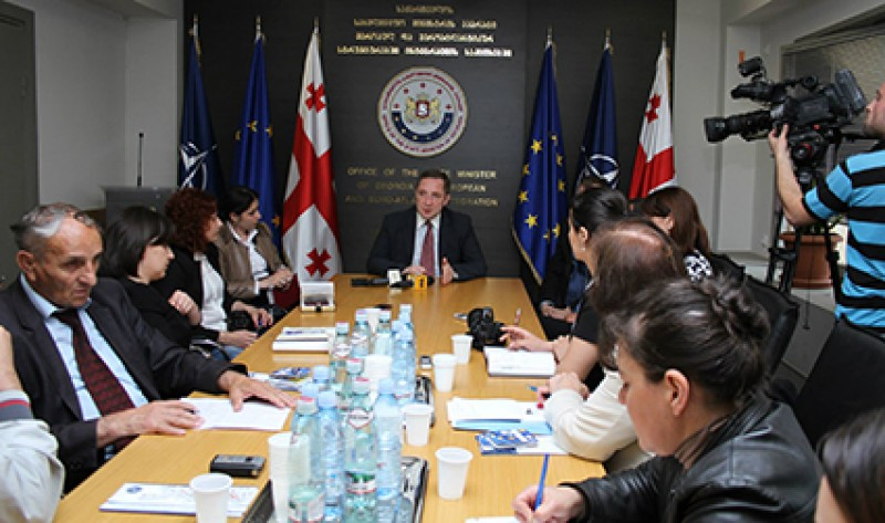 Regional media representatives met with the officials of governmental agencies and the EU Delegation